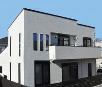 モノトーンを基調としたシンプルモダンな住宅